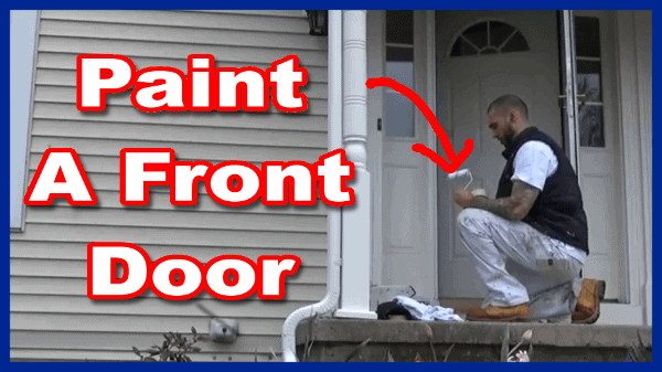 How To Paint Metal Exterior Front Doors