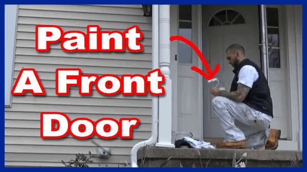 Paint A Metal Exterior Door Best Paint The 518 Painter 518